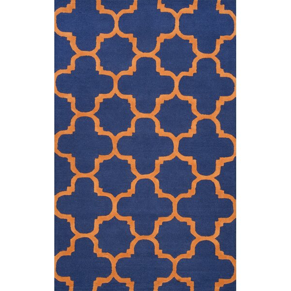Dragomir Hand-Woven Blue Area Rug by nuLOOM