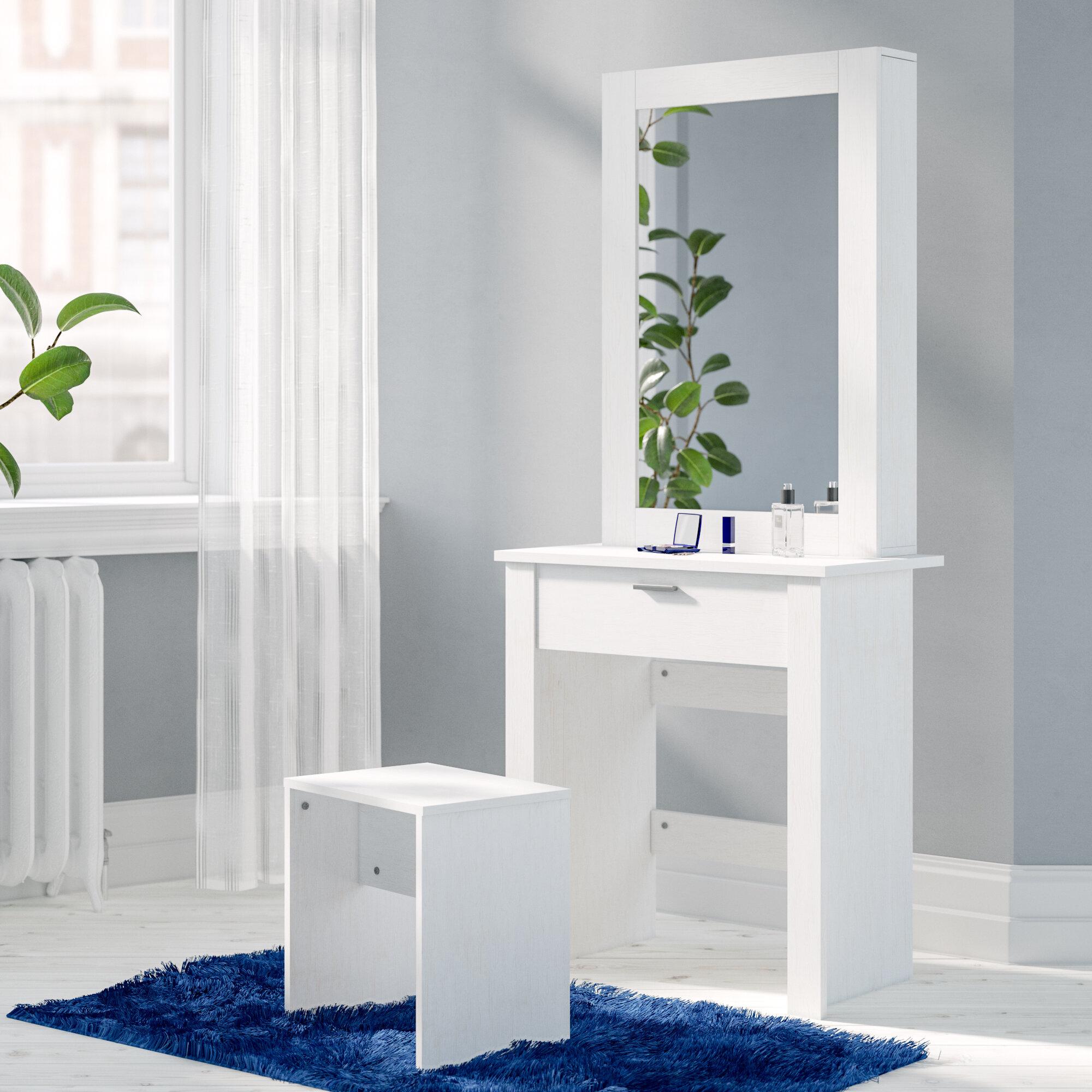 wholesale dealer e82e0 643a1 Gumm Sliding Door Dressing Table Set with Mirror