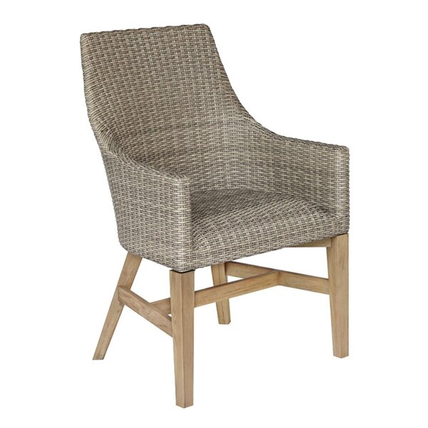 Jayden Patio Dining Chair by Rosecliff Heights
