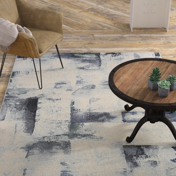 Andover Woven Gray Area Rug by Williston Forge