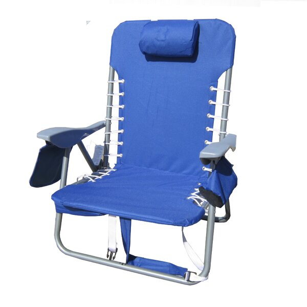 Canopy Reclining Beach Chair by Pure Weather Pure Weather