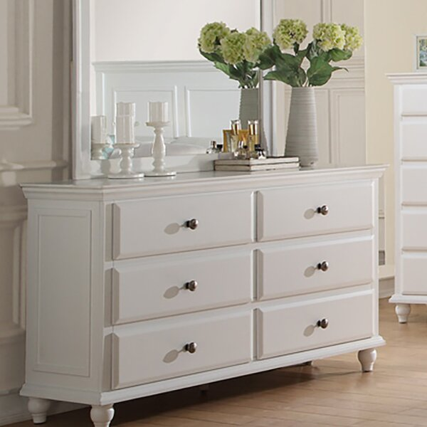 Lorelei 6 Drawer Double Dresser by Charlton Home