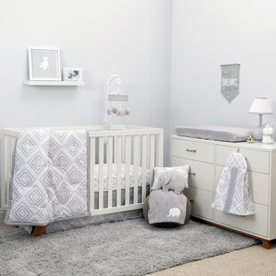 Reviews Advait 8 Piece Crib Bedding Set By Harriet Bee