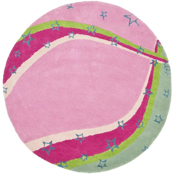 Claro Green / Pink Rug by Harriet Bee