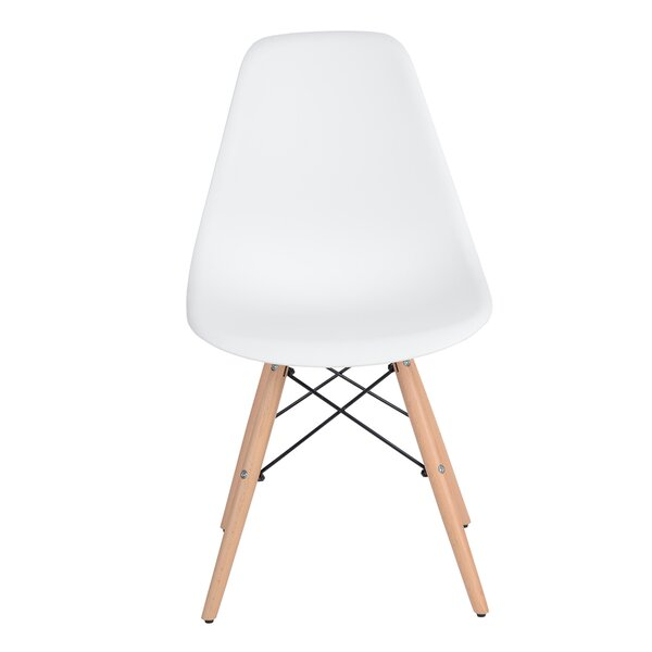 Ozan Side Chair In White (Set Of 4) By Corrigan Studio
