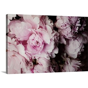 'Peonies Galore I' by Elizabeth Urquhart Photographic Print on Wrapped Canvas by Great Big Canvas