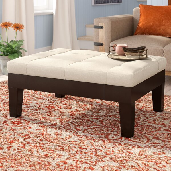 Lockeport Tufted Storage Ottoman by Loon Peak