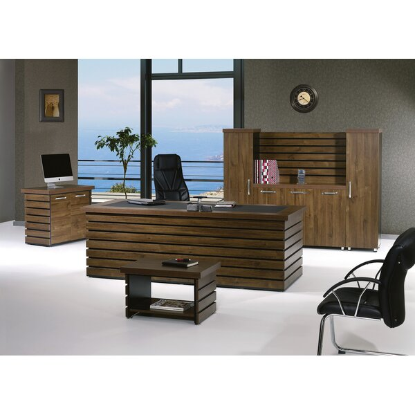 Lillyana Modern 4 Piece Desk Office Suite by Corrigan Studio