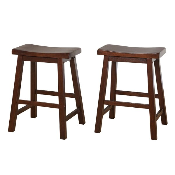 Whitworth 24 Bar Stool (Set of 2) by Andover Mills