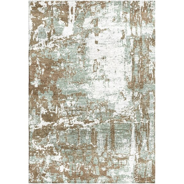 Ashford Handloom Brown Area Rug by Ivy Bronx
