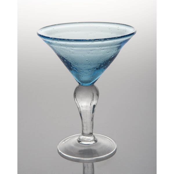 St. Remy 8 Oz. Bubble Martini Glass (Set of 4) by Abigails