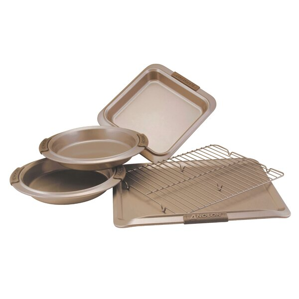 Advanced 5 Piece Bakeware Set by Anolon