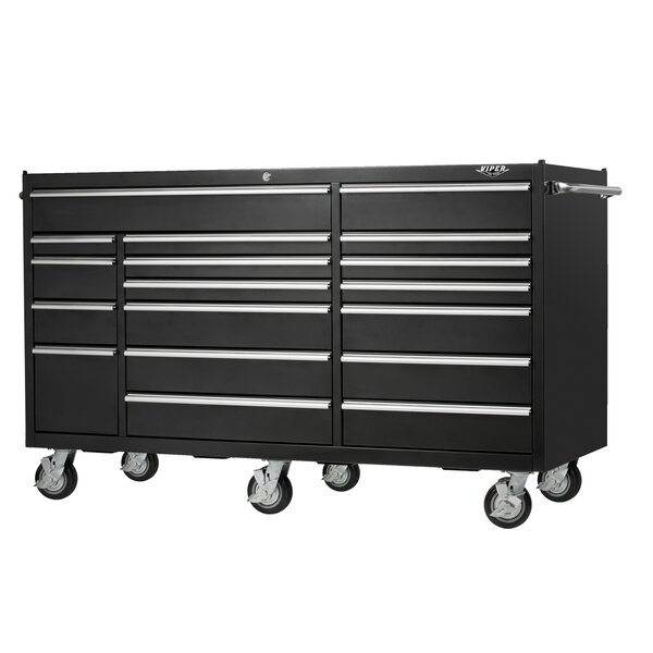 PRO 72W 18-Drawer Tool Chest by Viper Tool Storage