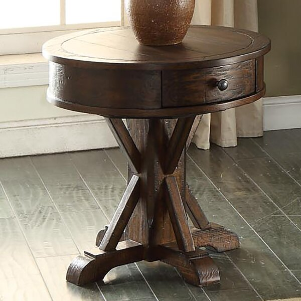 Check Price Tremper End Table With Storage