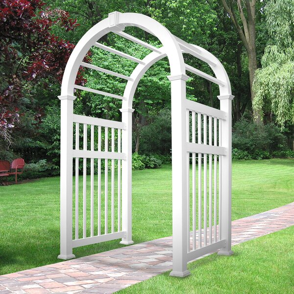 Elizabethan Vinyl Arbor by Weatherables