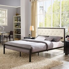 Kettner Modern Queen Upholstered Platform Bed by Brayden Studio