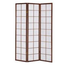 Araline 70 x 52 Tri Fold 3 Panel Room Divider by Bayou Breeze