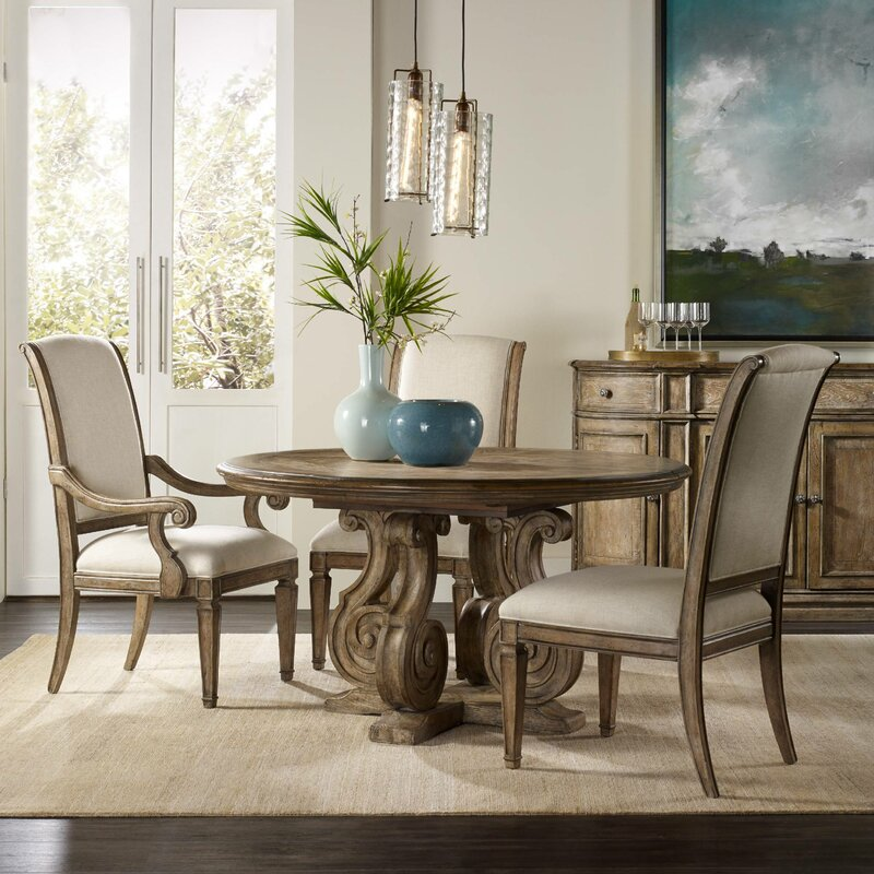 hooker furniture solana dining table & reviews | wayfair