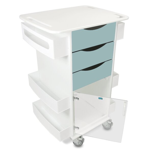 Core Dx AV Cart with Hinged Door by TrippNT
