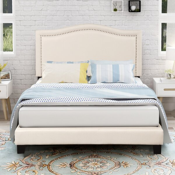 Truex Upholstered Standard Bed by Canora Grey