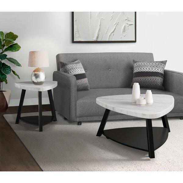 Kimberlin 2 Piece Coffee Table Set by Brayden Studio Brayden Studio