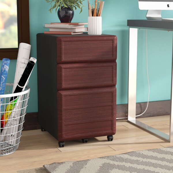 Elizabeth 3-Drawer File Cabinet by Latitude Run