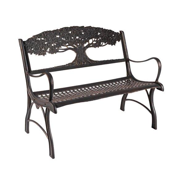 Miele Tree Cast Iron Park Bench