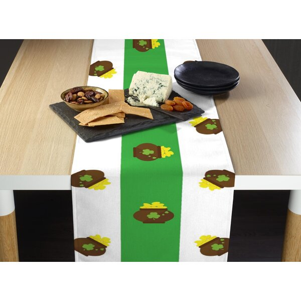 Ethen Pot Irish Stripe Table Runner by The Holiday Aisle