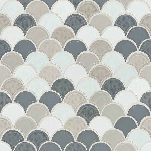Victoria 1.8 x 1.8 Ceramic Mosaic Tile in Warm Blend by Shaw Floors