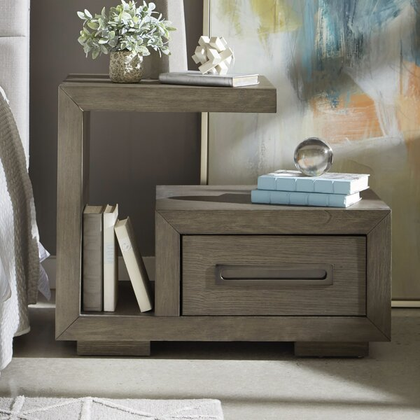 Brisco Drawer Nightstand by Williston Forge