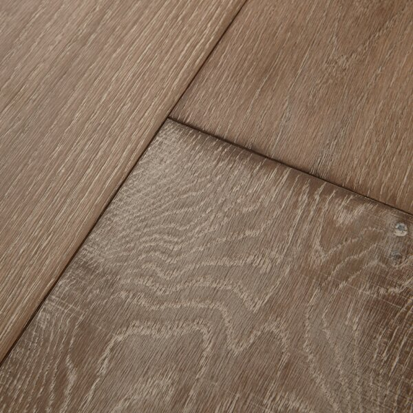 Antigua 7 Engineered Oak Hardwood Flooring in Linen by Mannington