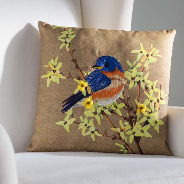 Meansville Indoor/Outdoor Throw Pillow by August Grove