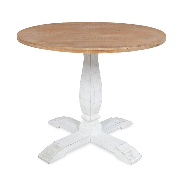 Cofer Round Pedestal Solid Wood Dining Table by Gracie Oaks