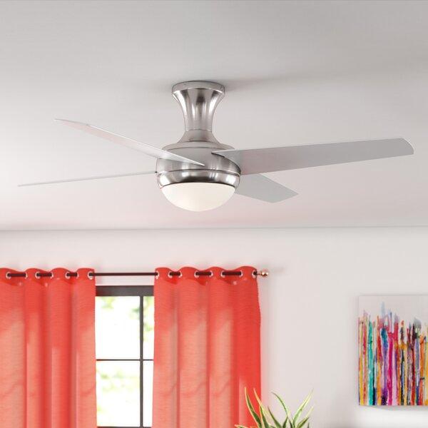 52 Lizzy 4-Blade Ceiling Fan by Zipcode Design