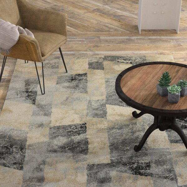 Myranda Cream/Gray Area Rug by Williston Forge