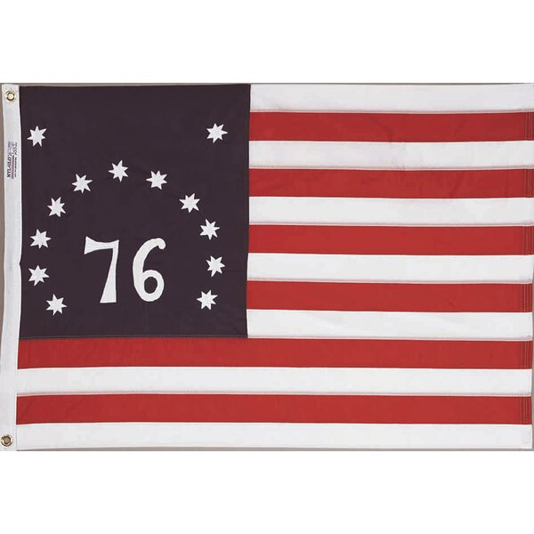 Nylon Bennington Dyed Traditional Flag by Annin Flagmakers