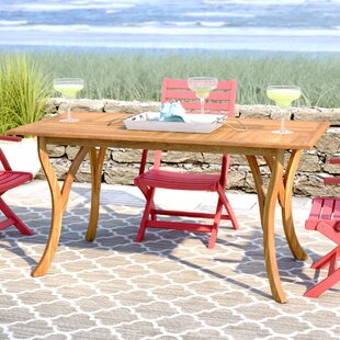 Patio Dining Tables Youll Love Wayfair - Outdoor wood rectangular dining table