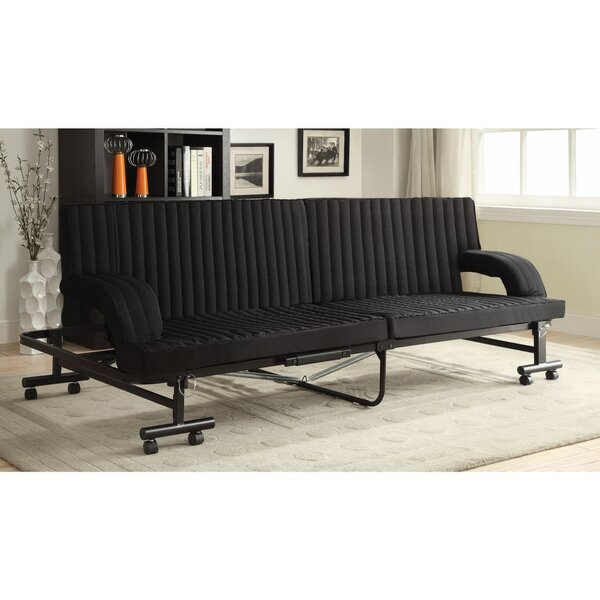 Vick Versatile Chaise Convertible Sofa by Latitude Run