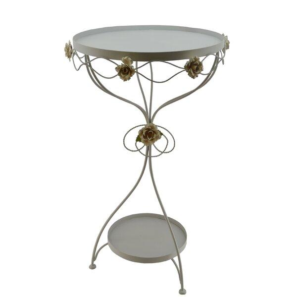 Metal End Table By Three Star Im/Ex Inc.