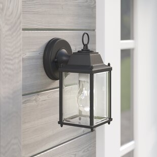 Coupon Lori 1-Light Outdoor Wall Lantern By Darby Home Co