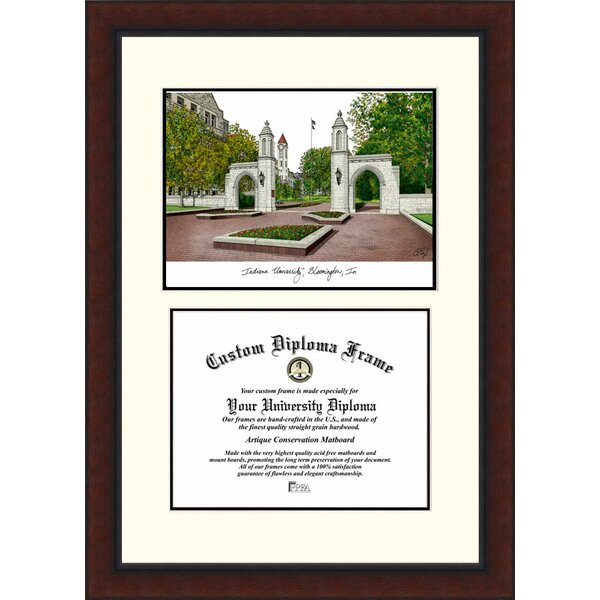 NCAA Indiana University, Bloomington Legacy Scholar Diploma Picture Frame by Campus Images