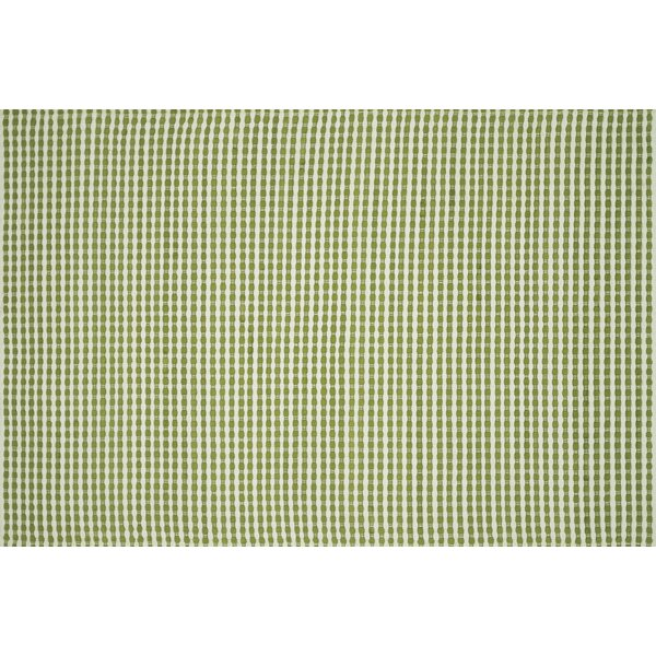 Cramerton Hand-Woven Green Area Rug by Bay Isle Home