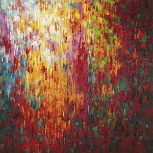 'Confetti' Painting Print on Wrapped Canvas by Latitude Run