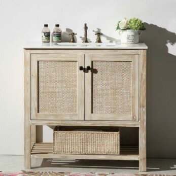 Gavarnie 36 Bathroom Vanity Set by Lark Manor