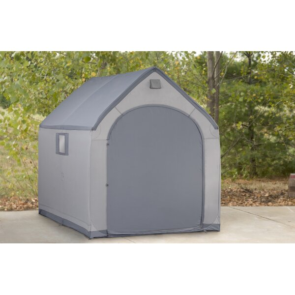6 ft. W x 7 ft. 5 in. Portable Storage Shed by Flowerhouse