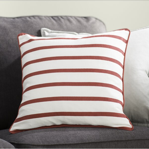 Draughn Cotton Pillow Cover by The Holiday Aisle