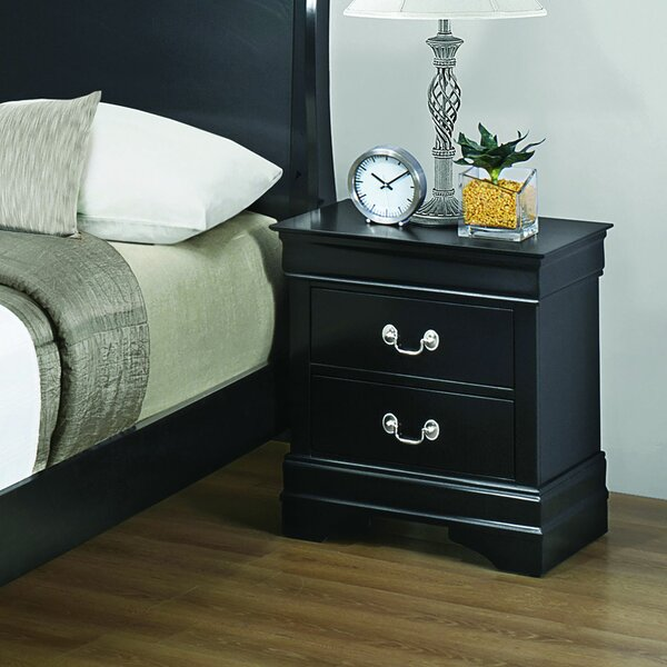 Millsaps 2 Drawer Nightstand by Canora Grey