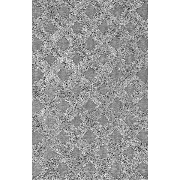 Feemster Gray Area Rug by Bungalow Rose