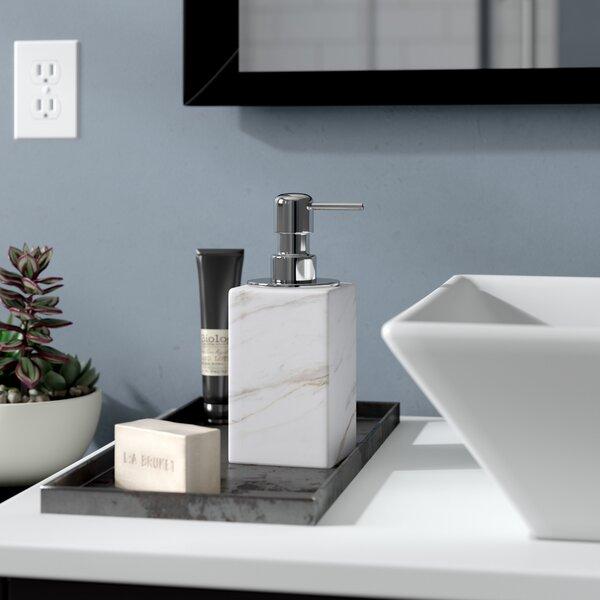Karam Soap Dispenser with Pump by Wade Logan