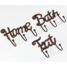 3 Piece Home Bath Eat Wall Hook Set by Winston Porter